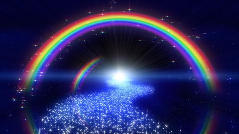 Rainbow A Way C1 Stock Video Footage