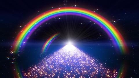 Rainbow A Way B1 Stock Video Footage