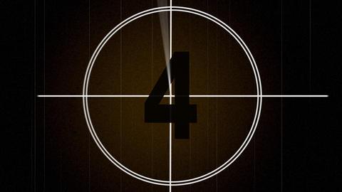Film Countdown Treated Animation