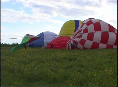 inflating air bags Footage