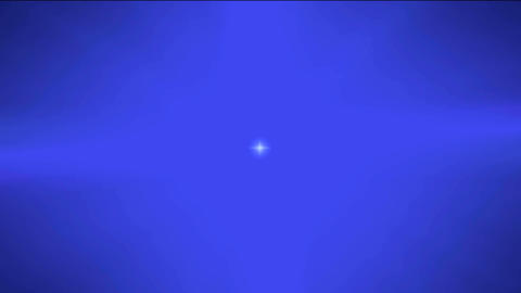 blue space ball Stock Video Footage