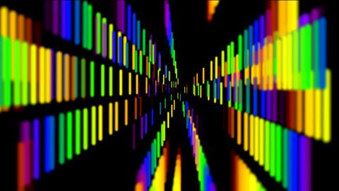 rainbow line Stock Video Footage