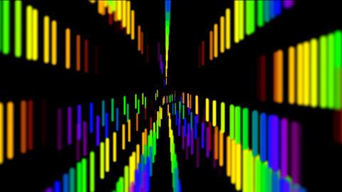 rainbow line Animation