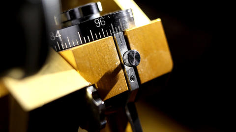Precision instrument Stock Video Footage