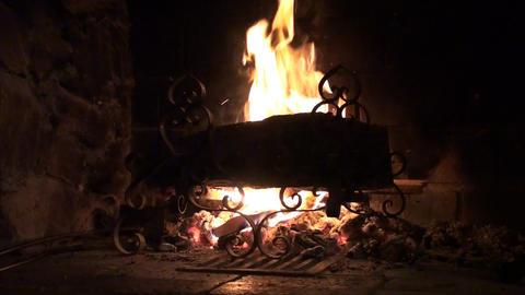 Wood burning Stock Video Footage