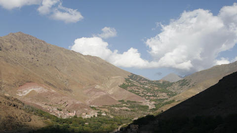 Clouds over Imlil Footage