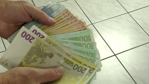 show money Stock Video Footage