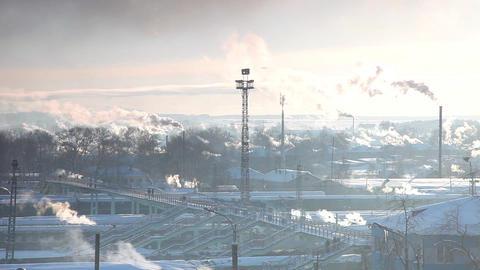 1461 Station Cloud TL HD J96 Stock Video Footage