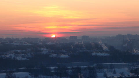 1520 Sunset TL HD J96 Stock Video Footage