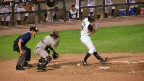 Catcher Drops Ball on Strikeout Footage