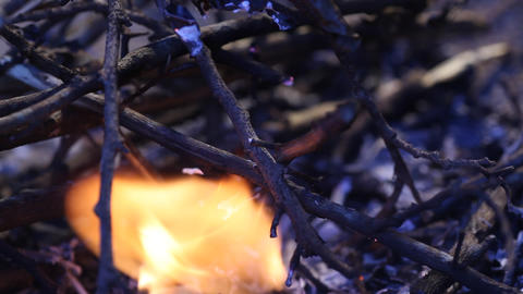 Fire burns Live Action