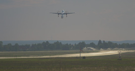 Airport Nuremberg Starting Plane 3 4 K Cine D Filmmaterial