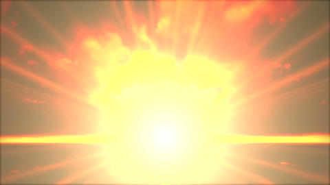 Nuclear Explosion 2 stock footage