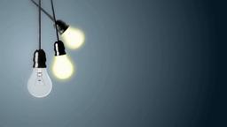 Lighting bulbs 애니메이션