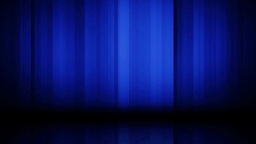 Blue curtain background Stock Video Footage