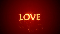 love and heart Stock Video Footage