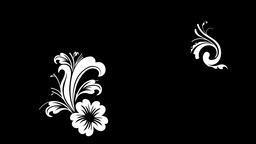 floral set Animation