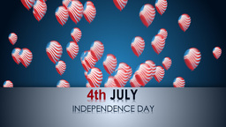 4th July Stock Video Footage