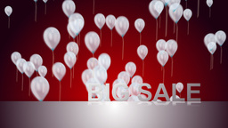 big sale background Animation