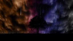 Aurora Borealis Background stock footage
