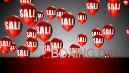 Happy Boxing Day stock footage