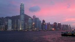 HKG 0065 TL stock footage