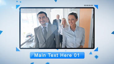 Corporate Clean After Effects Template