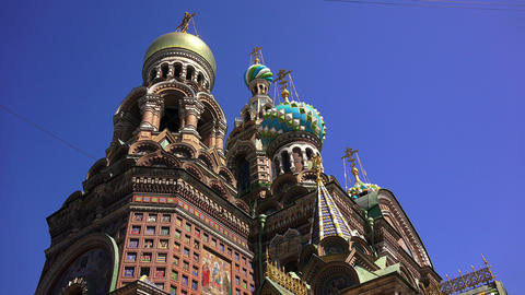 Church of the Savior on Blood in St. Petersburg. 4 Footage