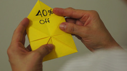 Origami Game Discount 40 Percent Footage