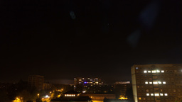 Day and night in european city, timelapse Footage