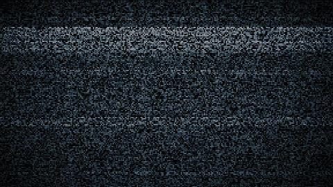 TV noise Animation