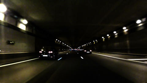 Highway Tunnel 04 Footage