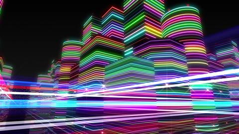 Neon Light City R 1 Ba 4 4k Animation