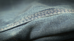 Blue denim jeans close up HD stock footage Footage