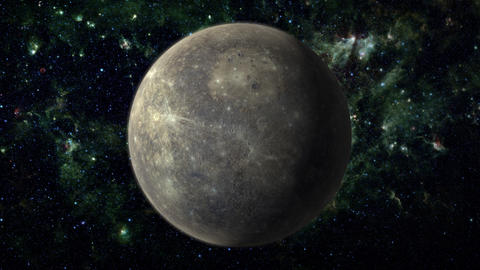 Planet Mercury Animation