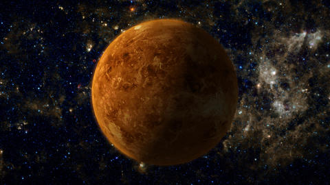Planet Venus Animation