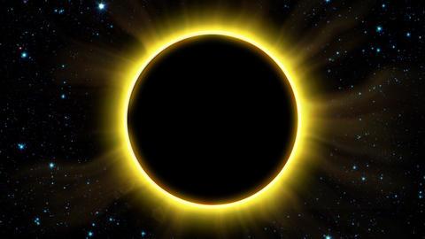 Solar Eclipse 2 Animation