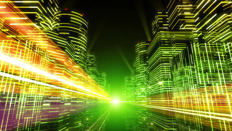 Neon Light City F 1 Ab 4 4k Animation