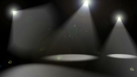 Spotlights on Black Stock Video Footage