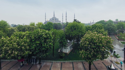 Rain in Istanbul. Time Lapse Footage