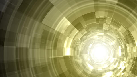 Techno Tunnel Background Animation