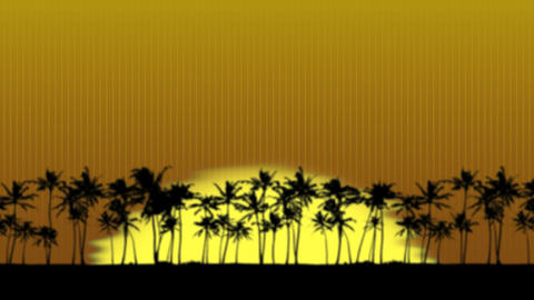 Sunrise in Paradise Animation