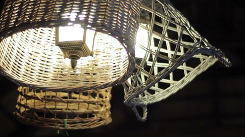 lamp at night Footage