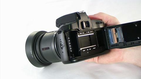 Loading SLR Camera Footage