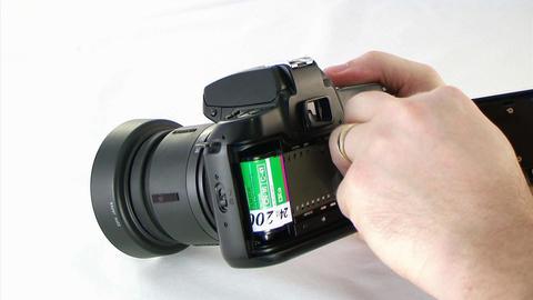 Loading SLR Camera Stock Video Footage