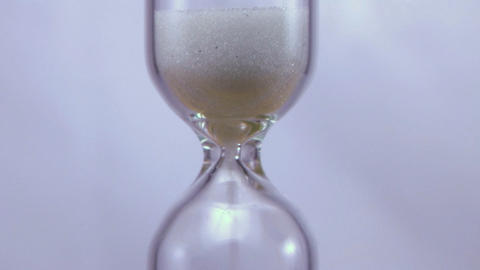 Hourglass Time Lapse Stock Video Footage