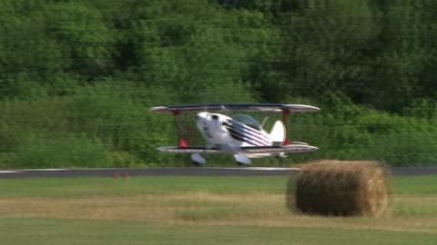 Plane Landing Footage