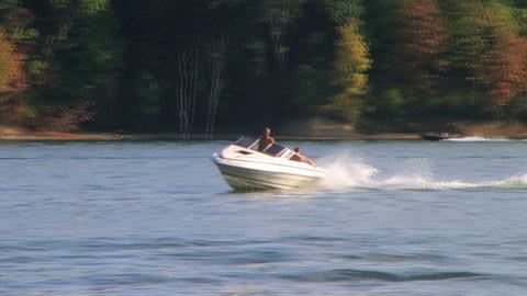 Tubing on Lake Footage