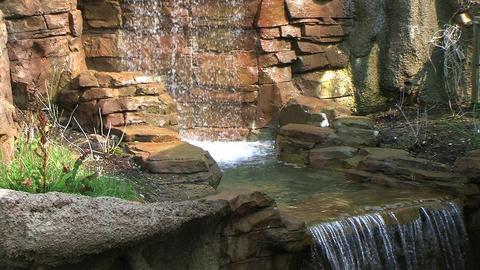 Stone Waterfall Footage