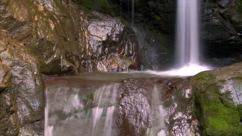 water flow waterfall Stock Video Footage